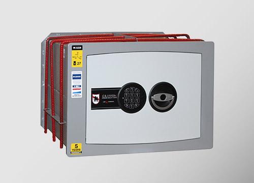 Sieniniai Griffon W serijos elektroniniai seifai